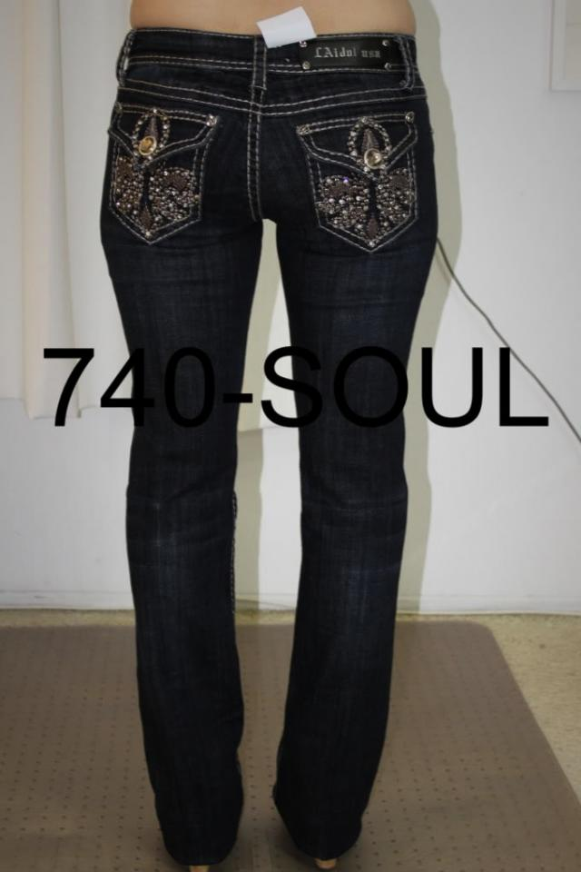 LA IDOL MISS ME BOOTCUT SKINNY JEANS ALL SIZES, LOTS OF STYLE Photo