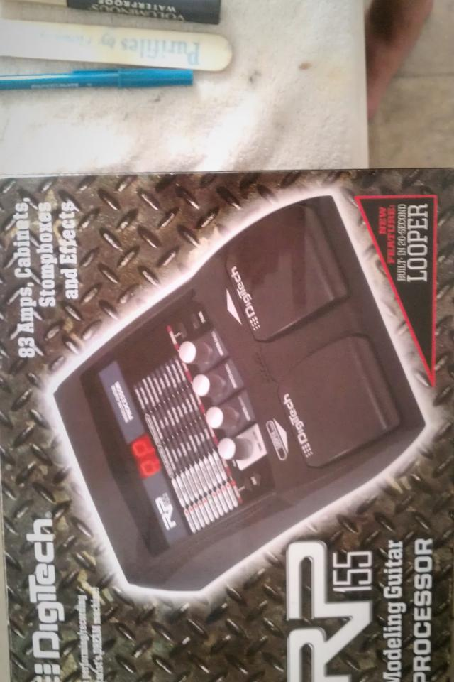 digitech rp155 guitar effects Photo