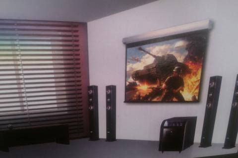 HD Fidelity Powered Home Theater HD-65 Photo