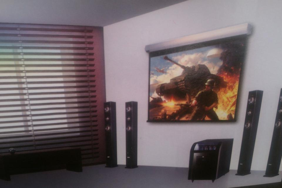 HD Fidelity Powered Home Theater HD-65 Large Photo