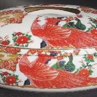 Gump's Imari Peacock China Photo
