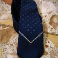 Vintage Christian Dior Silk Skinny Tie Photo