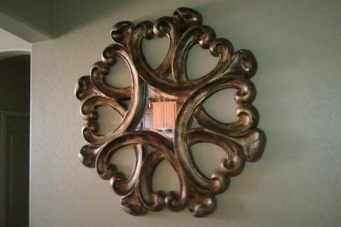 decorative mirror for your house Photo