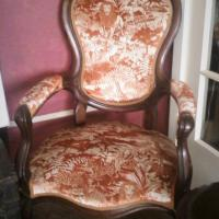Victorian armchair Photo