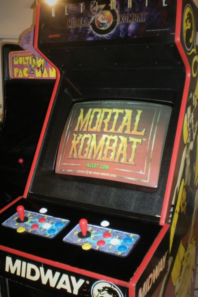 ►ULTIMATE MORTAL KOMBAT TRILOGY►ARCADE MACHINE!+MK 1 & 2 & UMK3-PLAYS ALL 3! Large Photo