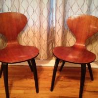 Two Plycraft Chairs Photo