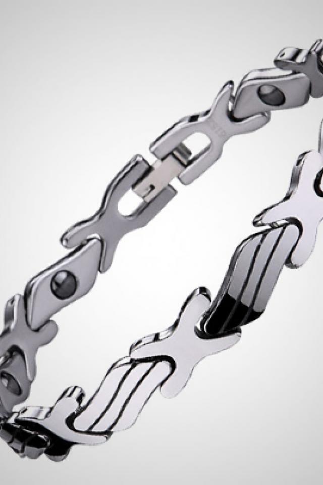 Tungsten Magnetic Bracelet Photo
