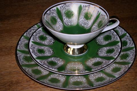 Bavarian Cup and Saucer set Photo