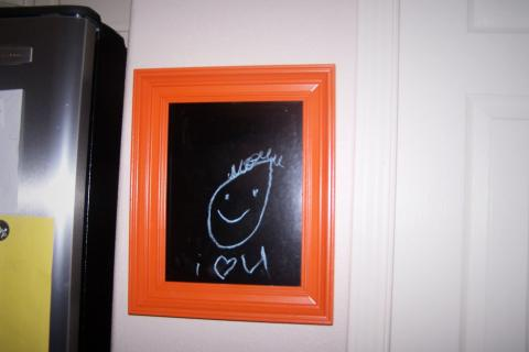 Framed Chalkboard Photo