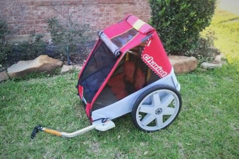 Chariot Caddie Bicycle Child Trailer Photo