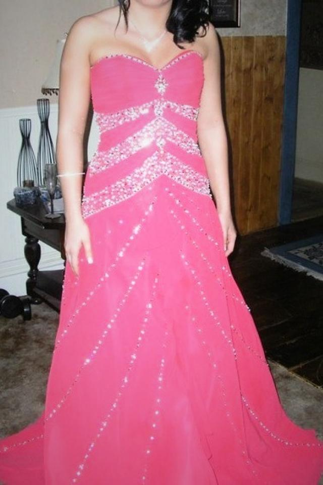 Precious Formals Prom Dress Size 6 Large Photo