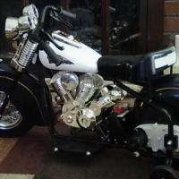 Childs Ride On Little Indian Motorcycle Photo