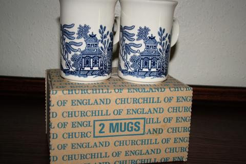 Blue Willow by Churchill   (Box of 2) Photo