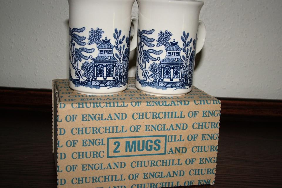 Blue Willow by Churchill   (Box of 2) Large Photo