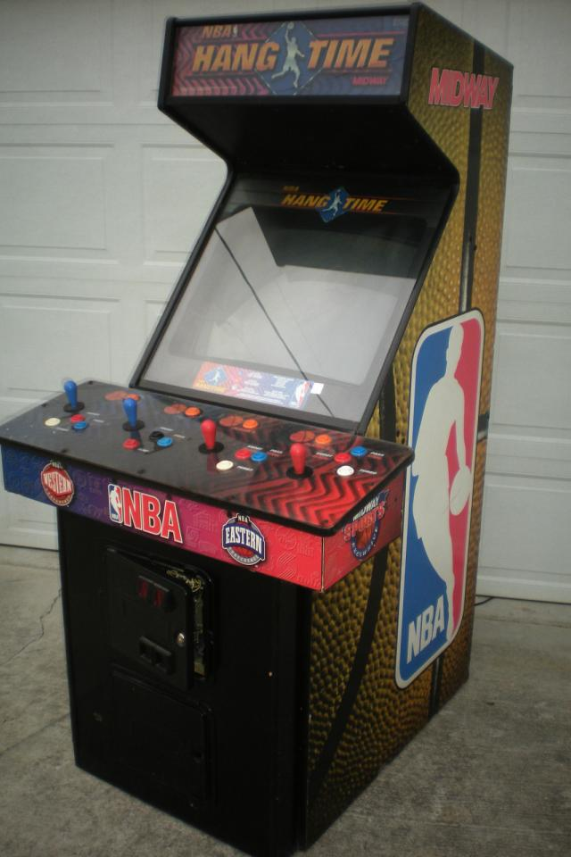 NBA HANGTIME Arcade Machine by MIDWAY 1996 video game Large Photo