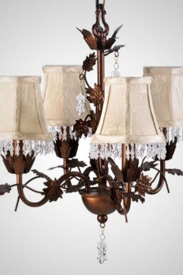 RUE ST. PIERRE CHANDELIER LAMP Photo