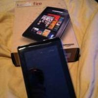 Kindle Fire with Case Photo