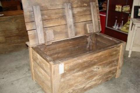 Barnwood Trunk/ Hope Chest Photo