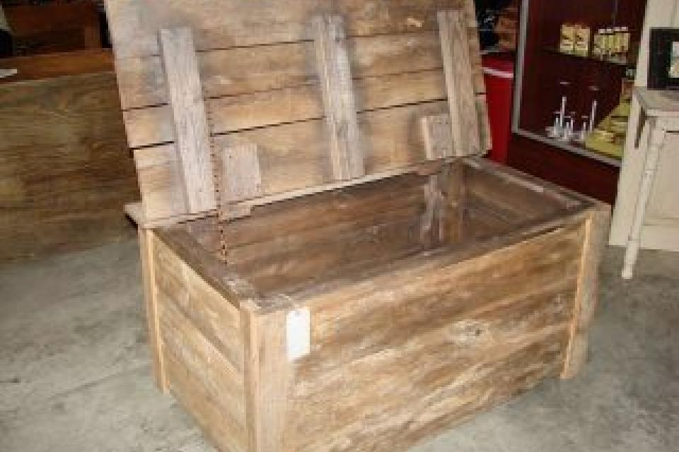 Barnwood Trunk/ Hope Chest Large Photo