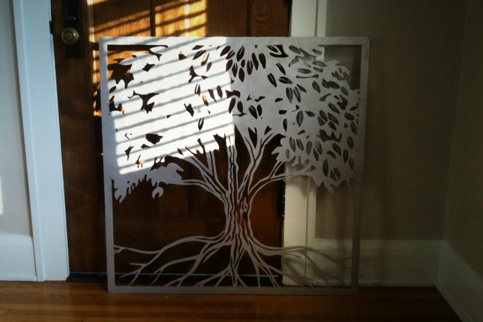 CNC Aluminum Art Large Photo