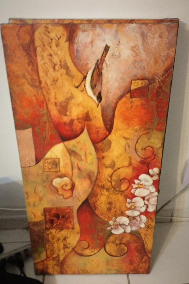 Canvas paintings qty2 Photo