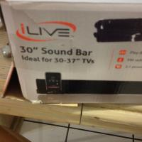 Ilive sound bar for 37in tv s  Photo