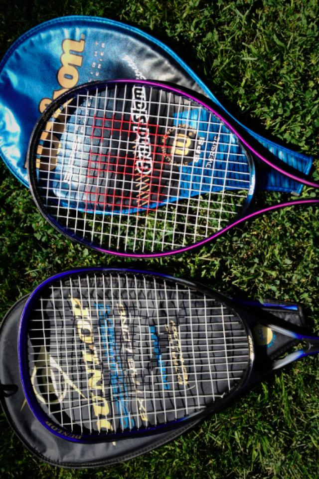 Tennis racquet!  Photo