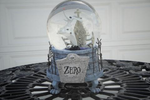 Zero Musical Snow Globe-Disney's Nightmare Before Christmas Collection Photo