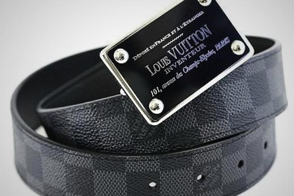 Louis Vuitton Damier Graphite Belt Large Photo