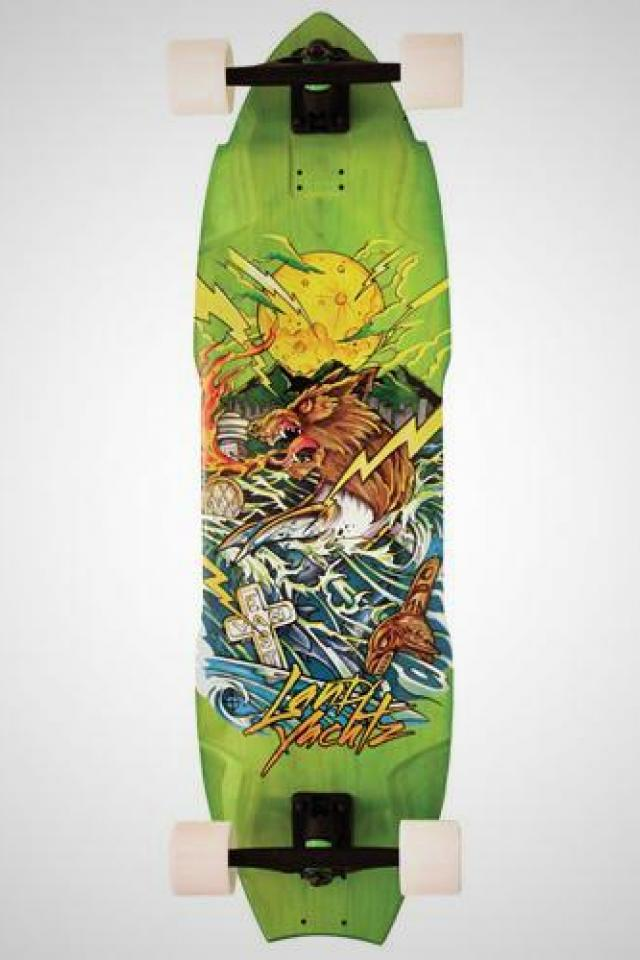 Landyachtz Wolf Shark Complete Longboard  Photo