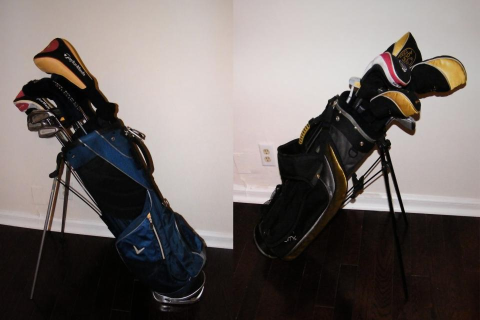 2 SETS OF GOLF CLUBS 1 ADULT & 1 JR (RIGHT HANDED) Large Photo
