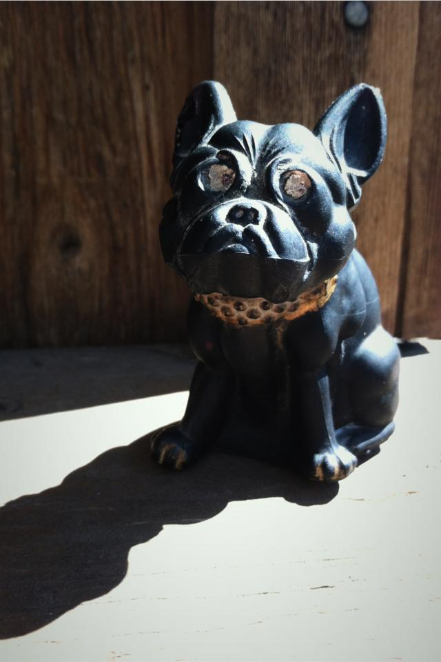Westmoreland glass bulldog Photo