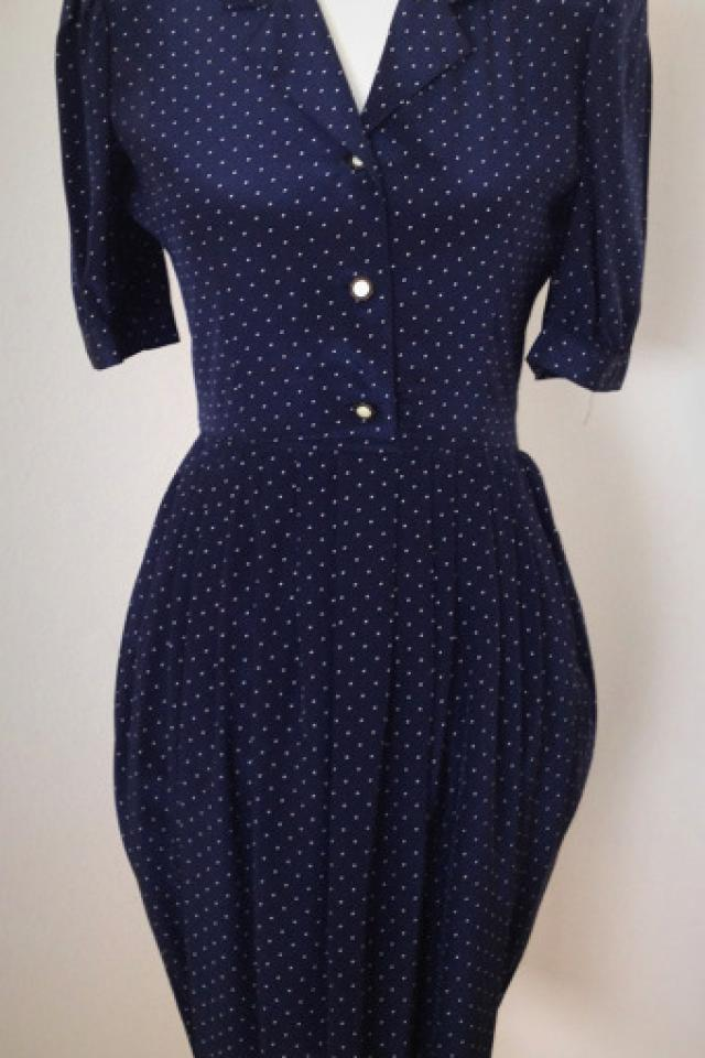 Vintage 1960s Polkadot Dress Photo