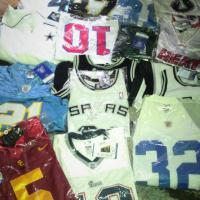 NFL and NBA onfield Jerseys- all brand new with tags and in plastic Photo