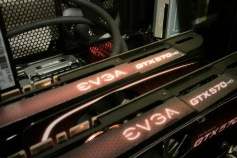 Superclocked EVGA 570 HD Video Cards Photo