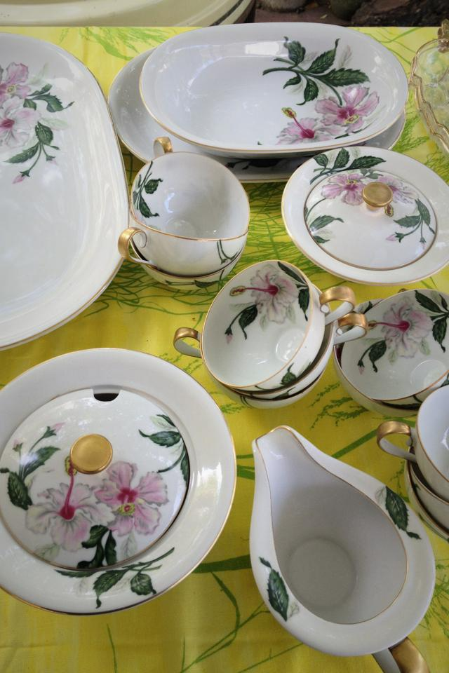 Gorgeous vintage china Photo