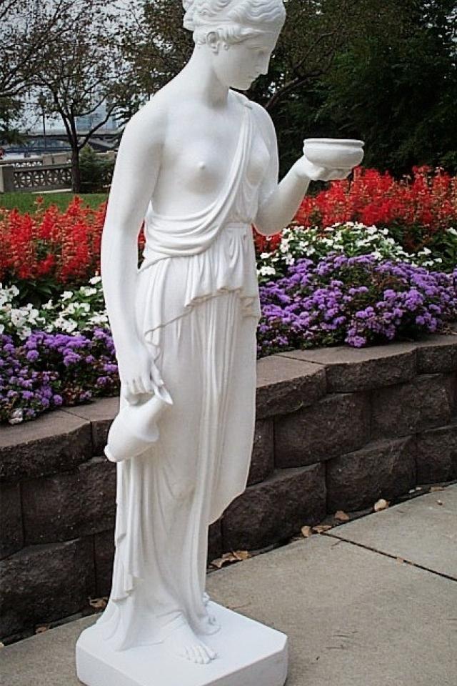Hebe 'Statue' outside or inside Photo