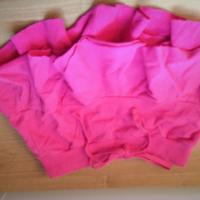 Womens Abercrombie & Fitch Pink Ruffle Mini Skirt XS Photo
