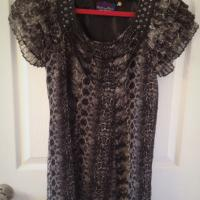 Womens Forever 21 Tunic Top Chain Small Photo