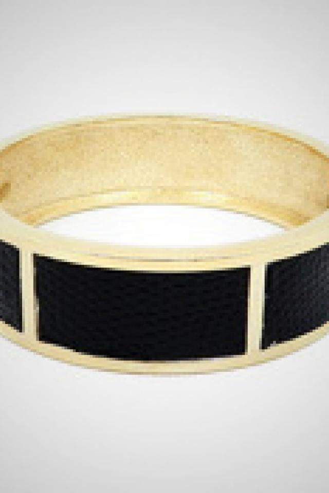 Faux Leather Snap Bracelet  Photo