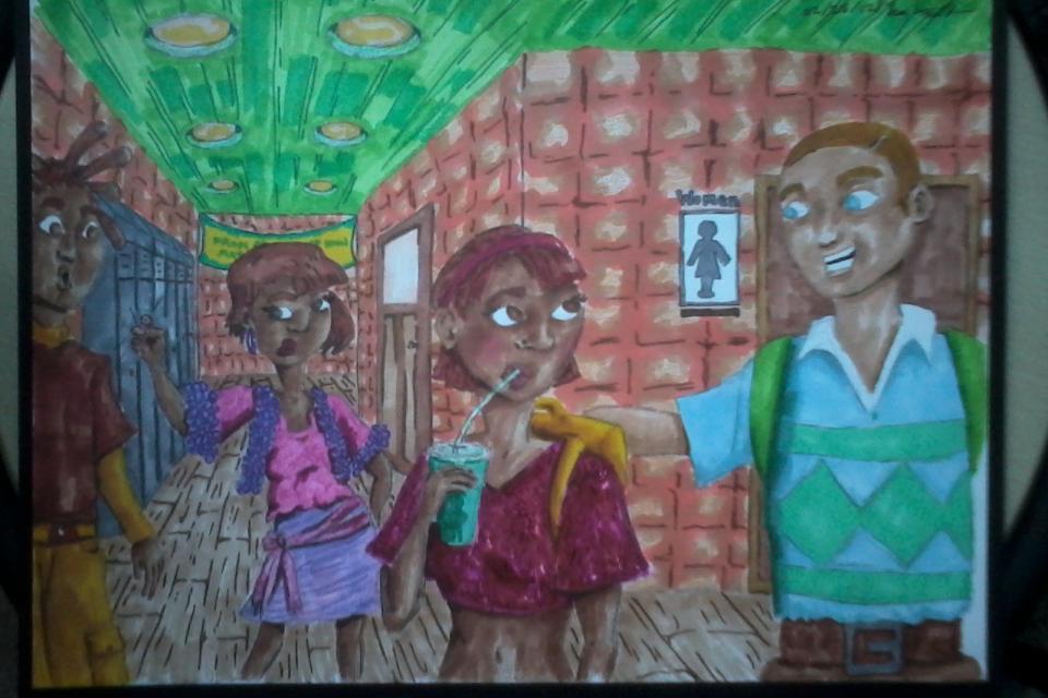 School Day illustration Large Photo