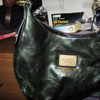 Vera Wang dark green bag  Photo