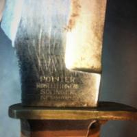 Solingen Germany antique hunting knife w/ sheath Photo