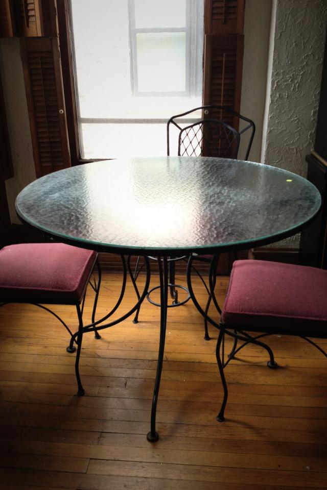 Glass Table Photo