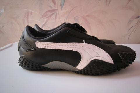 Mostro Black/White Puma Women's Sneaker Shoes Size 6 Photo
