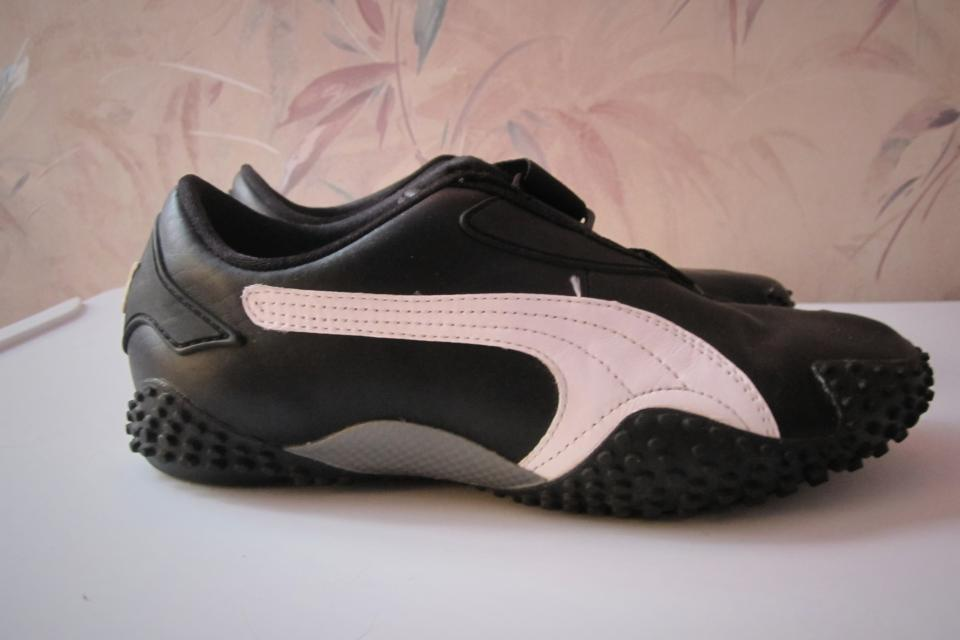 Mostro Black/White Puma Women's Sneaker Shoes Size 6 Large Photo