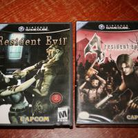 Nintendo GameCubeResident Evil &amp; Resident Evil 4  Photo
