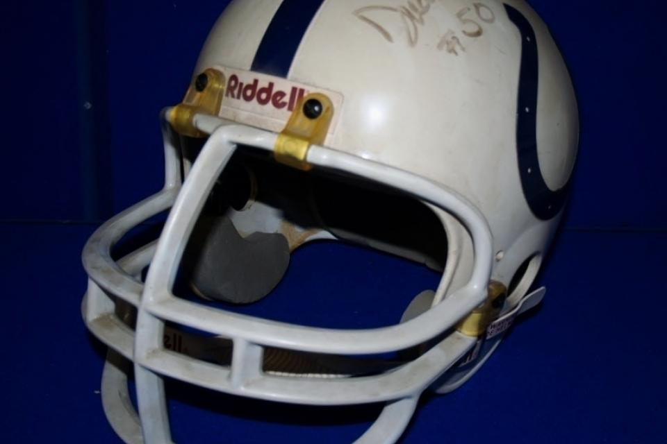 Baltimore Colts Signed Helmet Large Photo