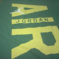 BRAND NEW Men's Air Jordan Tee Shirt 3XL - Green w/ Yellow Photo