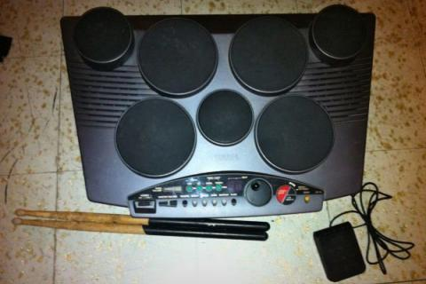 Yamaha DD 7 Pad Digital Drum System Photo
